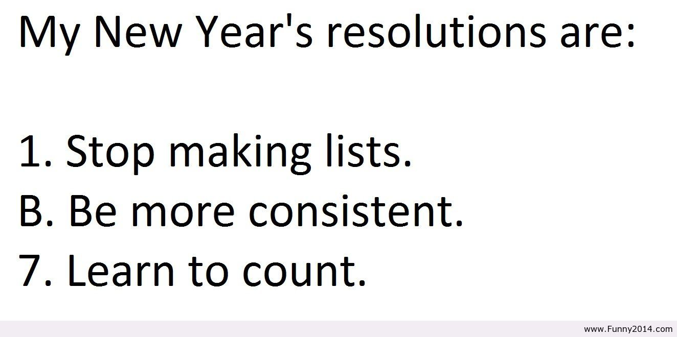 Image result for Funny New Year resolutions 2017