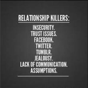 Relationship Killers